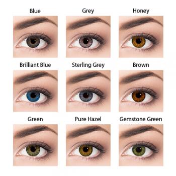 Air Optix Colors - Graduadas (2) - cores disponíveis