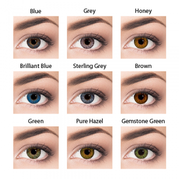 Air Optix Colors (2) - cores disponíveis